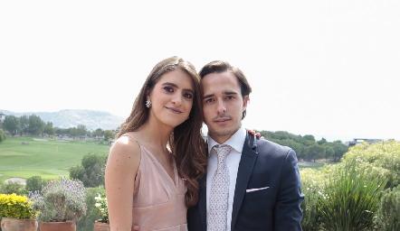 Paola Gutiérrez y Sebastián Rodríguez.