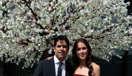 Mauricio Motilla y Carmen Del Valle.