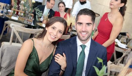 Valeria Reta y Rubén García.