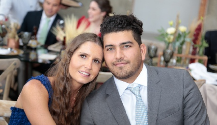 Samantha Patiño y Pablo Vázquez.