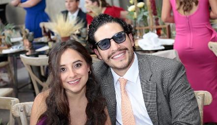 Ximena Cardoso y Miguel Berrones.