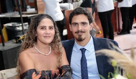 Mónica Magdub y Mateo Deguerrico.