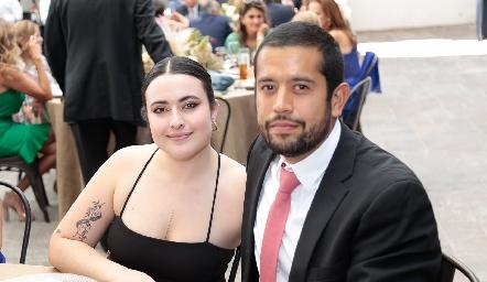 María Inés Rodríguez y David Araniba.