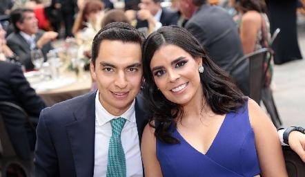 Emilio Payán y Marily Tobías.