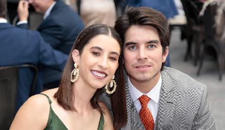 Maye Andrés y Alejandro Sánchez.