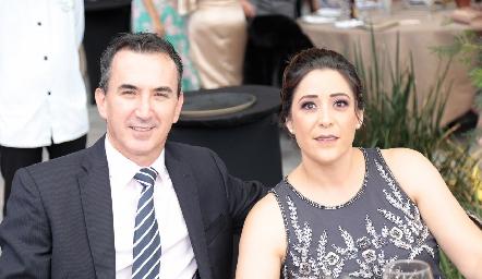 Gaspar Aguilar y Ale Martínez.