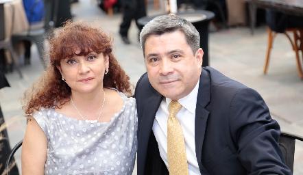 Carlota Aranda y Eloy Campos.