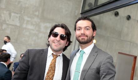 Antonio Esper y Carlos González.