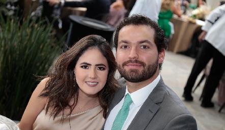 Carlos González y Paulina Aldrett.