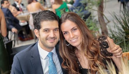 Polo Stevens y Ana Soto.