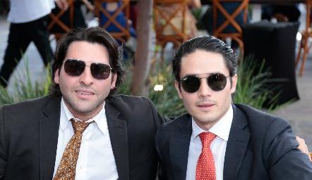 Antonio Esper y Agustín Castillo.