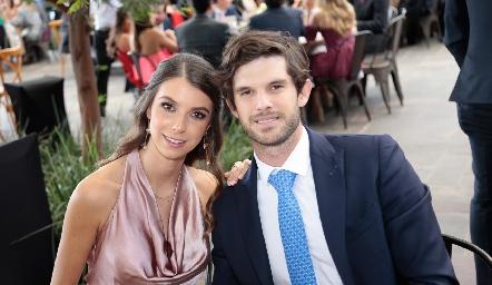 Isabel Gaviño y José Antonio Hernández.