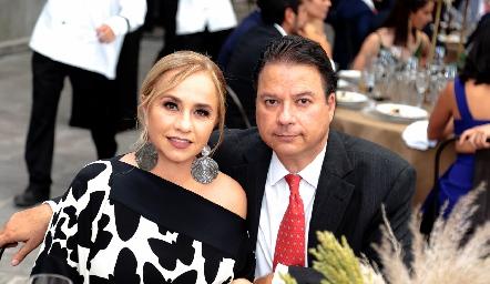 María Fernanda Río y Jorge Rodríguez.