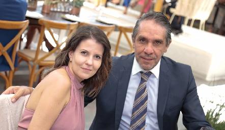 Karla Gómez y Gerardo Fernández.