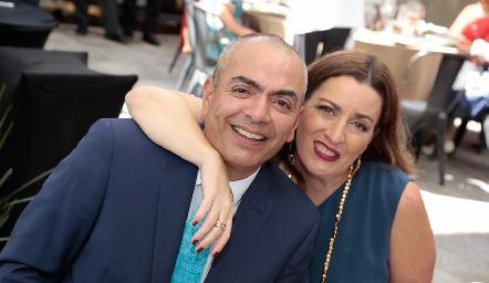 Oscar y Tatiana Millán.