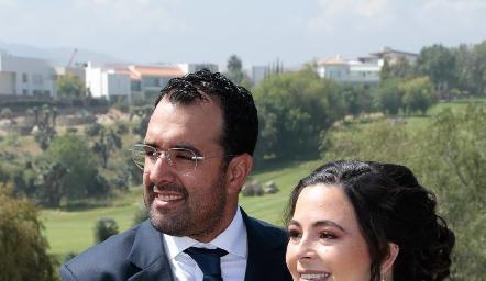 Mauricio Romo y Susana Lozano de Romo.