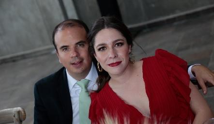 Ernesto Aguilera y Lorena de la Parra.