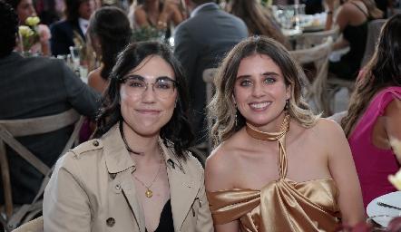 Martha González y Vero Abub.