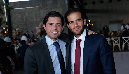 Gerardo Serrano y Samer Medlich.