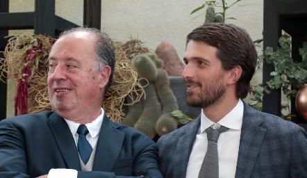 Samuel Romo y Santiago Gaviño.