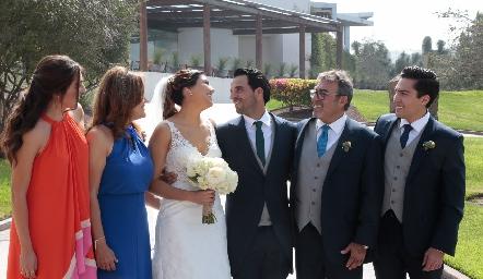 Familia Villanueva Gómez.