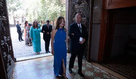 Patricia Gómez de Villanueva y Samuel Romo.