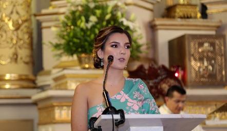 Miriam González.