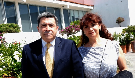 Eloy Campos y Carlota Aranda.