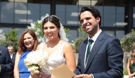 Boda Civil de Samuel Romo y Diana Villanueva.