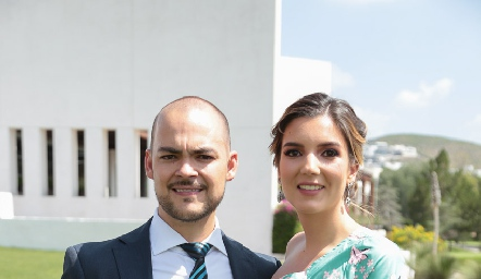 Pedro Pablo Lozano y Mimí Navarro.