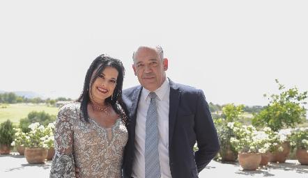 Ana Reyes y Raúl Piñeiro.