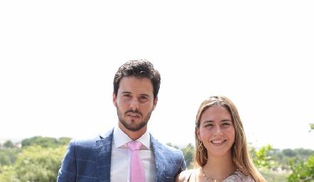 Claudio Meade y Elena Pelayo.