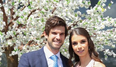 José Antonio Hernández e Isabel Gaviño.
