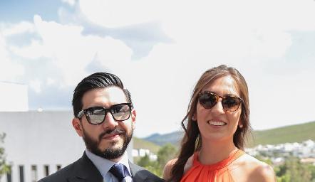 Raúl Reyes y Fernanda Villanueva.