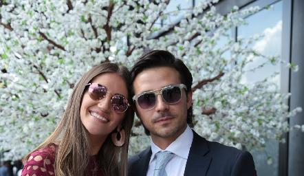 Jessica Lemione y  Juan José Rodriguez.