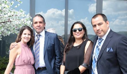 Lizet Azuaje, Oscar Millán, Karla Gómez y Gerardo Fernández.