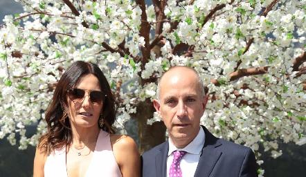Claudia Artolozaga y Juan Carlos Nieto.