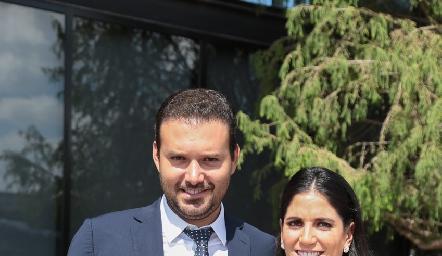 Diego y Maribel de Luna.