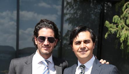 Javier y José Manuel Gómez.