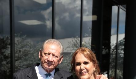 Mario y Marisa Zulaica.