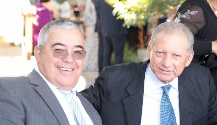 Mario Zulaica y Alberto Lozada.