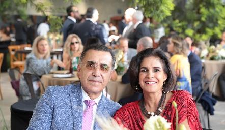Fernando de Luna y Ana Laura Villarreal.