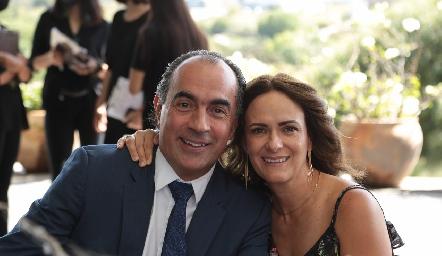 Fernando López y Daniela Coulon.