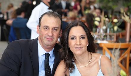 Rodolfo Oliva y Ana Isabel Pérez.