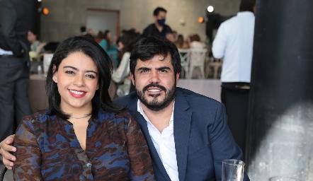 Graciela Castañeda y Rodrigo Arredondo.