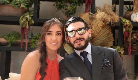 Fernanda Villanueva y Raúl Reyes.