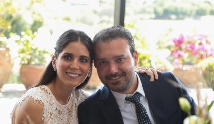 Maribel Rodríguez y Diego de Luna.