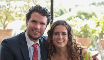 José Gómez y Paulina González.