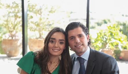 Marianela Villasuso y Gerardo Serrano.