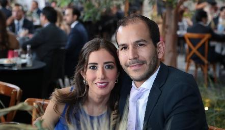 Adriana Muñoz y Daniel Mendizábal.